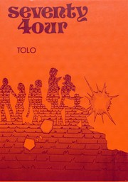 1974 Edition, Toulon Township High School - Tolo Yearbook (Toulon, IL)