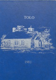 1981 Edition, Toulon Township High School - Tolo Yearbook (Toulon, IL)
