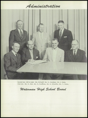 Page 10, 1957 Edition, Waterman High School - Waterlog Yearbook (Waterman, IL) online yearbook collection