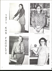 Page 14, 1971 Edition, Kansas High School - Kanillio Yearbook (Kansas, IL) online yearbook collection