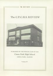 Page 5, 1928 Edition, Cissna High School - Review Yearbook (Cissna Park, IL) online yearbook collection