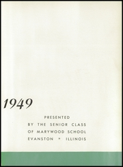 Page 7, 1949 Edition, Marywood School - Yearbook (Evanston, IL) online yearbook collection