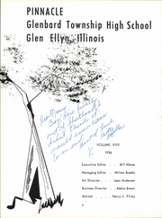 Page 6, 1956 Edition, Glenbard High School - Pinnacle Yearbook (Glen Ellyn, IL) online yearbook collection