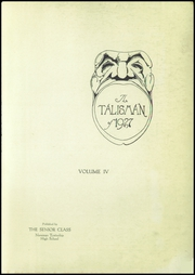 Page 5, 1927 Edition, Newman Township High School - Talisman Yearbook (Newman, IL) online yearbook collection