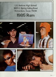 Page 5, 1985 Edition, Berkner High School - Ram Yearbook (Richardson, TX) online yearbook collection