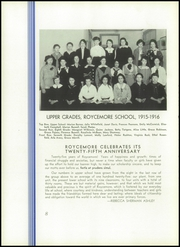 Page 12, 1940 Edition, Roycemore School - Griffin Yearbook (Evanston, IL) online yearbook collection