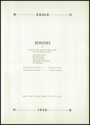 Page 17, 1942 Edition, Ridgway High School - Eagle Yearbook (Ridgway, IL) online yearbook collection