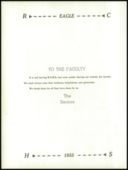 Page 16, 1955 Edition, Ridgway High School - Eagle Yearbook (Ridgway, IL) online yearbook collection