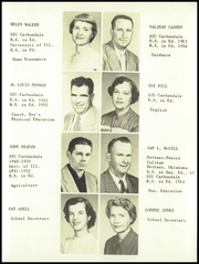 Page 17, 1955 Edition, Ridgway High School - Eagle Yearbook (Ridgway, IL) online yearbook collection