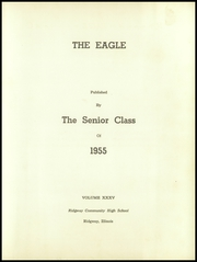 Page 7, 1955 Edition, Ridgway High School - Eagle Yearbook (Ridgway, IL) online yearbook collection