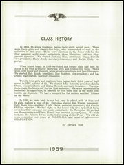 Page 18, 1959 Edition, Ridgway High School - Eagle Yearbook (Ridgway, IL) online yearbook collection