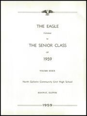 Page 7, 1959 Edition, Ridgway High School - Eagle Yearbook (Ridgway, IL) online yearbook collection