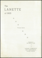 Page 5, 1953 Edition, Lanark High School - Lanette Yearbook (Lanark, IL) online yearbook collection