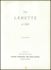 Page 5, 1955 Edition, Lanark High School - Lanette Yearbook (Lanark, IL) online yearbook collection
