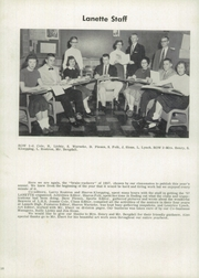 Page 14, 1957 Edition, Lanark High School - Lanette Yearbook (Lanark, IL) online yearbook collection
