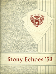 1953 Edition, Stonington High School - Echoes Yearbook (Stonington, IL)
