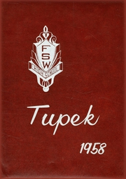 1958 Edition, Forrest Strawn Wing High School - Tupek Yearbook (Forrest, IL)