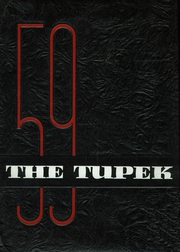 1959 Edition, Forrest Strawn Wing High School - Tupek Yearbook (Forrest, IL)