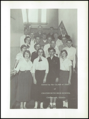 Page 5, 1956 Edition, Chatsworth High School - Tale Feathers Yearbook (Chatsworth, IL) online yearbook collection