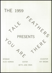 Page 5, 1959 Edition, Chatsworth High School - Tale Feathers Yearbook (Chatsworth, IL) online yearbook collection
