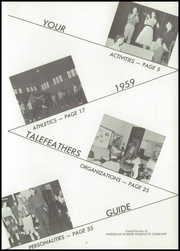 Page 7, 1959 Edition, Chatsworth High School - Tale Feathers Yearbook (Chatsworth, IL) online yearbook collection