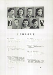 Page 13, 1942 Edition, Martinsville High School - Blue Streak Yearbook (Martinsville, IL) online yearbook collection