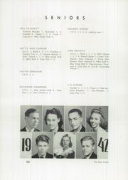 Page 14, 1942 Edition, Martinsville High School - Blue Streak Yearbook (Martinsville, IL) online yearbook collection