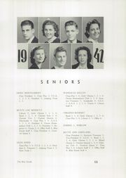 Page 15, 1942 Edition, Martinsville High School - Blue Streak Yearbook (Martinsville, IL) online yearbook collection