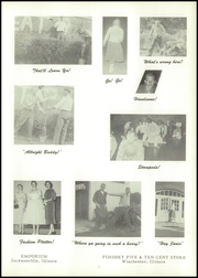 Page 11, 1956 Edition, Bluffs High School - Bluejay Yearbook (Bluffs, IL) online yearbook collection