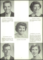 Page 15, 1956 Edition, Bluffs High School - Bluejay Yearbook (Bluffs, IL) online yearbook collection