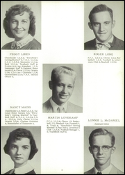 Page 17, 1956 Edition, Bluffs High School - Bluejay Yearbook (Bluffs, IL) online yearbook collection
