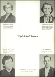 Page 7, 1956 Edition, Bluffs High School - Bluejay Yearbook (Bluffs, IL) online yearbook collection