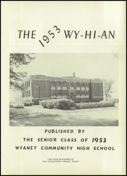 Page 5, 1953 Edition, Wyanet High School - Wyhian Yearbook (Wyanet, IL) online yearbook collection