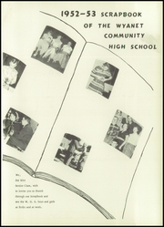 Page 7, 1953 Edition, Wyanet High School - Wyhian Yearbook (Wyanet, IL) online yearbook collection
