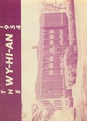 1954 Edition, Wyanet High School - Wyhian Yearbook (Wyanet, IL)