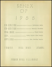 Page 5, 1955 Edition, Tower Hill High School - Senex Yearbook (Tower Hill, IL) online yearbook collection