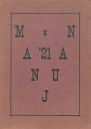 1921 Edition, Manlius High School - Mirror Yearbook (Manlius, IL)