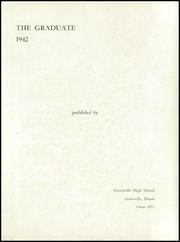 Page 5, 1942 Edition, Greenville High School - Graduate Yearbook (Greenville, IL) online yearbook collection