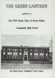 Page 7, 1959 Edition, Green Valley High School - Green Lantern Yearbook (Green Valley, IL) online yearbook collection