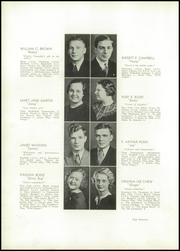 Page 16, 1936 Edition, Ridgefarm High School - Totem Yearbook (Ridge Farm, IL) online yearbook collection