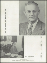 Page 12, 1952 Edition, Ridgefarm High School - Totem Yearbook (Ridge Farm, IL) online yearbook collection