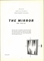 Page 5, 1956 Edition, Tonica High School - Mirror Yearbook (Tonica, IL) online yearbook collection