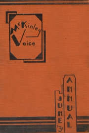 Page 1, 1930 Edition, McKinley High School - Memoirs Yearbook (Chicago, IL) online yearbook collection
