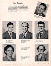 Page 11, 1958 Edition, Plymouth High School - Rock Yearbook (Plymouth, IL) online yearbook collection
