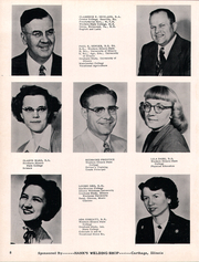 Page 12, 1958 Edition, Plymouth High School - Rock Yearbook (Plymouth, IL) online yearbook collection