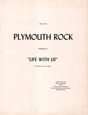 Page 5, 1958 Edition, Plymouth High School - Rock Yearbook (Plymouth, IL) online yearbook collection