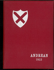 1953 Edition, Saint Andrews School - Andrean Yearbook (Barrington, RI)