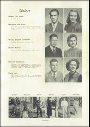 Page 17, 1949 Edition, White Hall High School - Echo Yearbook (White Hall, IL) online yearbook collection