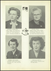 Page 13, 1953 Edition, Saunemin High School - Owl Yearbook (Saunemin, IL) online yearbook collection