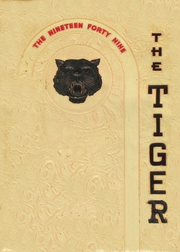 1949 Edition, Crossville High School - Tiger Yearbook (Crossville, IL)